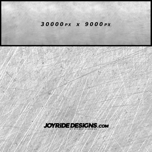 JOYRIDE SCRATCHED METAL TEXTURE WRAP DESIGN JDT-05