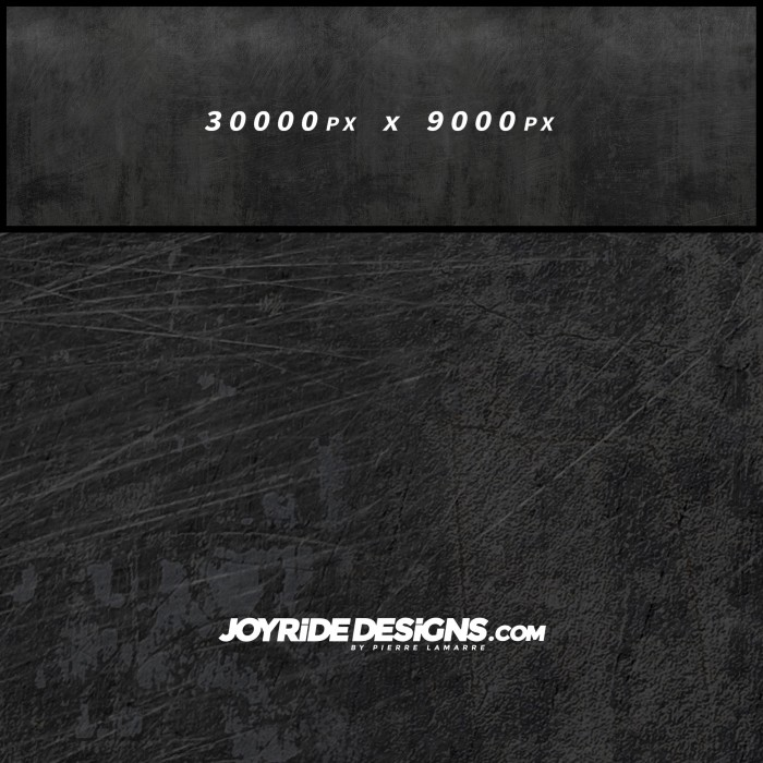 JOYRIDE WEATHERED DARK METAL TEXTURE WRAP DESIGN JDT-07