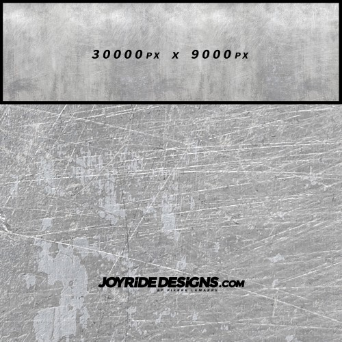 JOYRIDE WEATHERED LIGHT METAL TEXTURE WRAP DESIGN JDT-06