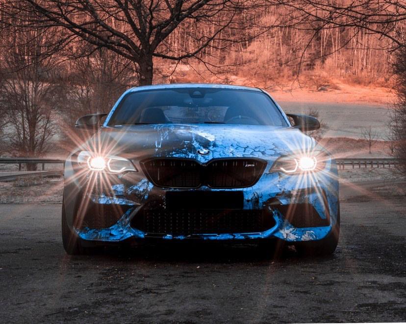 BMW M2 COMPETITION WEATHERED JOYRIDE WRAP DESIGN 2