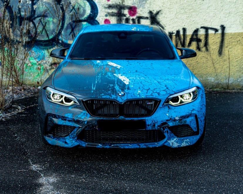 BMW M2 COMPETITION WEATHERED JOYRIDE WRAP DESIGN 6