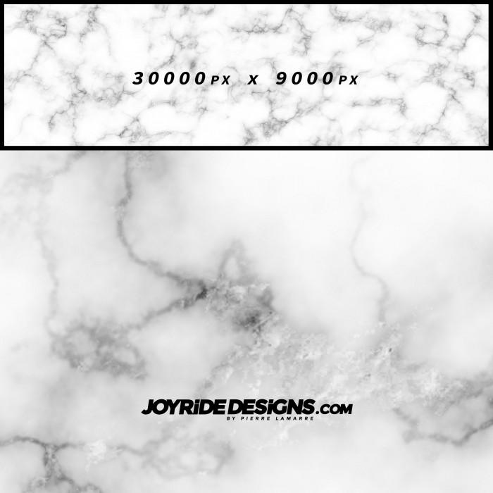 JOYRIDE WHITE MARBLE TEXTURE WRAP DESIGN JDT-14 60X200