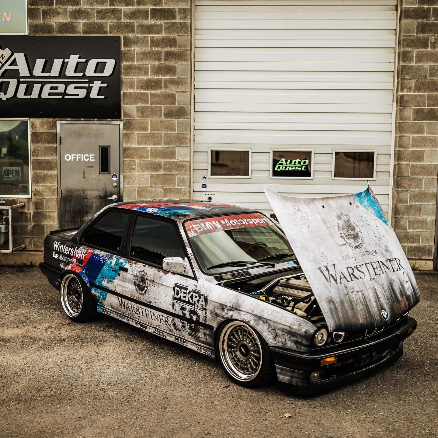 JOYRIDE BMW E30 DIRTY THIRTY WRAP DESIGN PROJECT 2