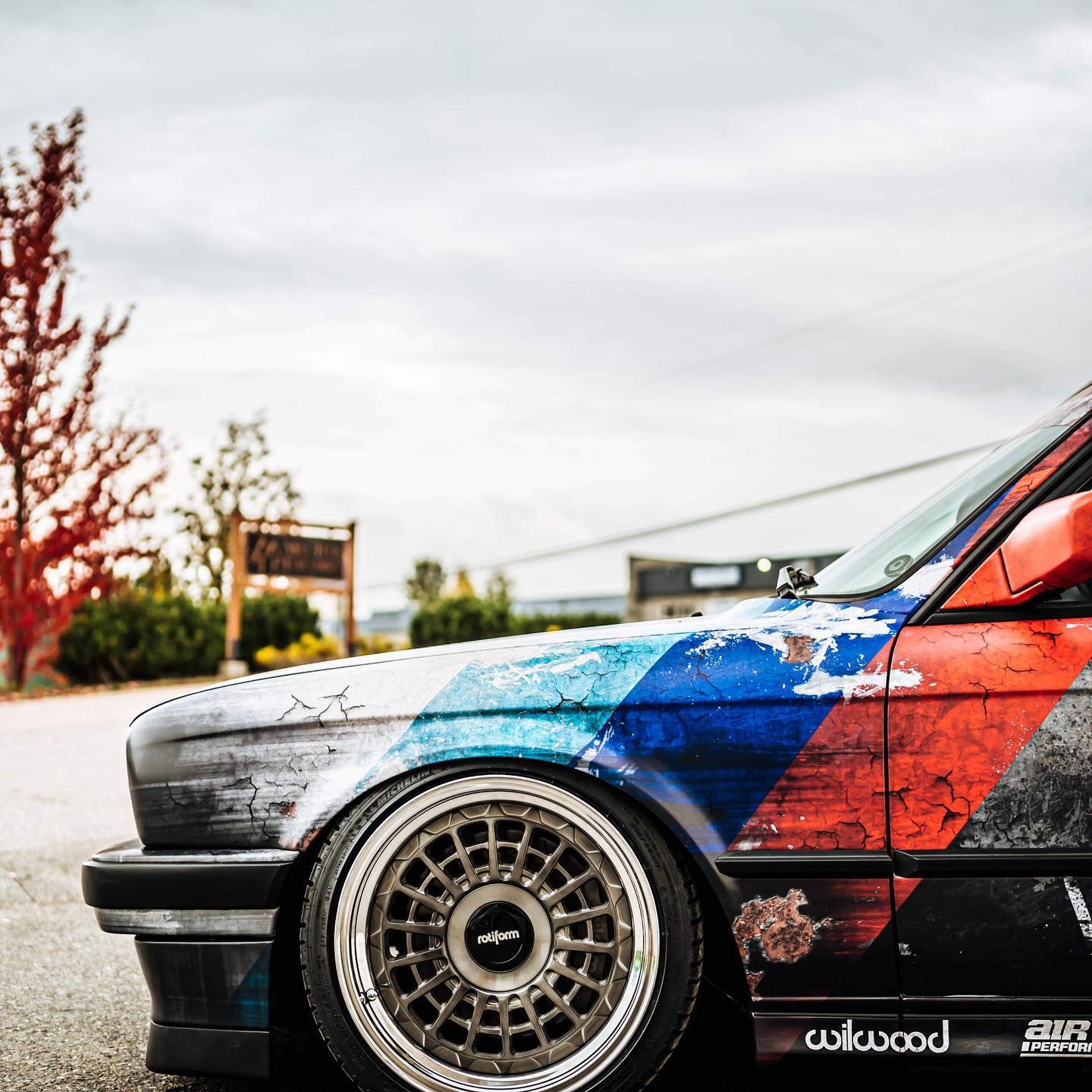 JOYRIDE BMW E30 DIRTY THIRTY WRAP DESIGN PROJECT 4