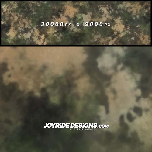 JOYRIDE CLASSIC DUST STORM CAMO PATTERN TEXTURE WRAP DESIGN JDT-24 60X200