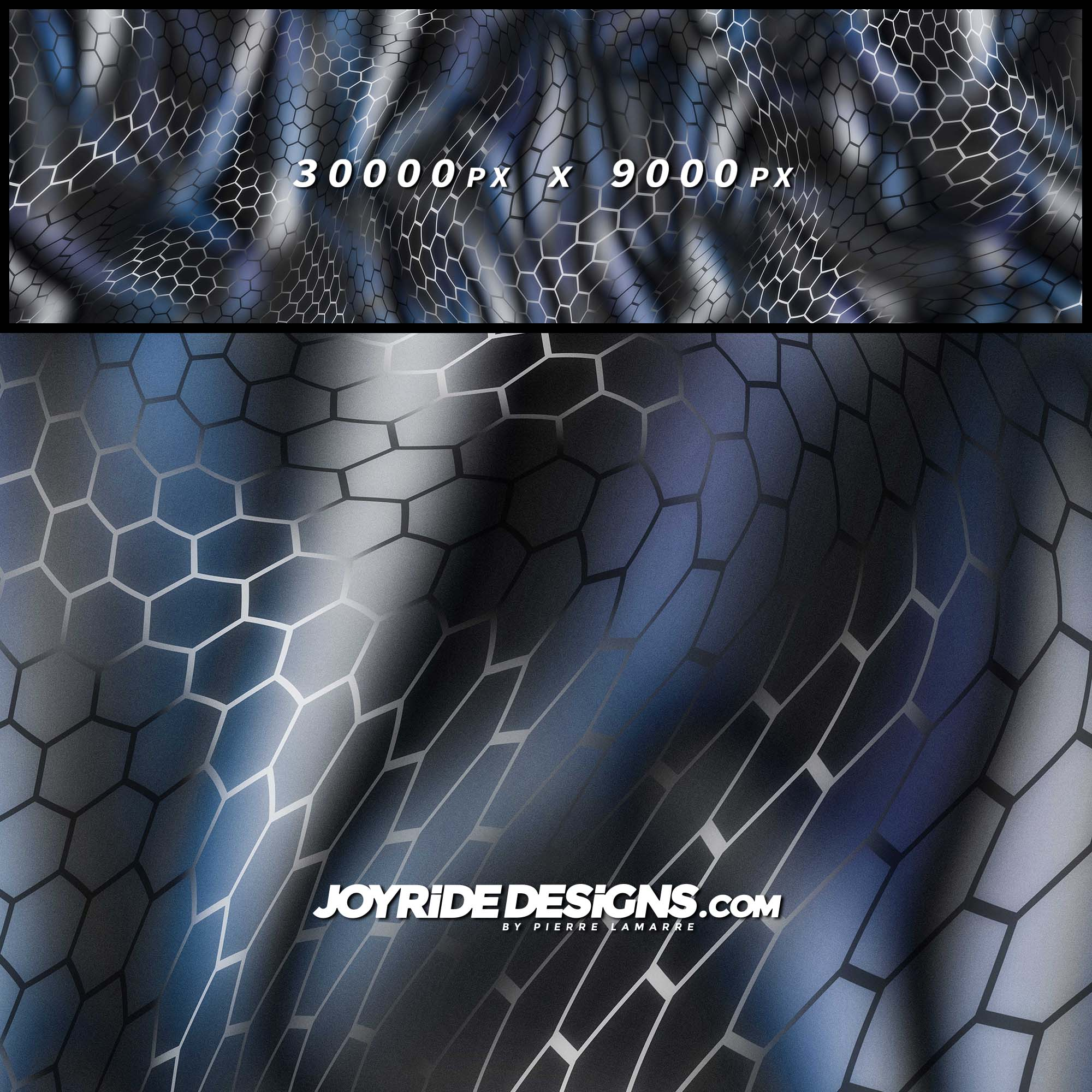 JOYRIDE HEXAGON WINTER CAMO PATTERN WRAP DESIGN JDT-23 60X200