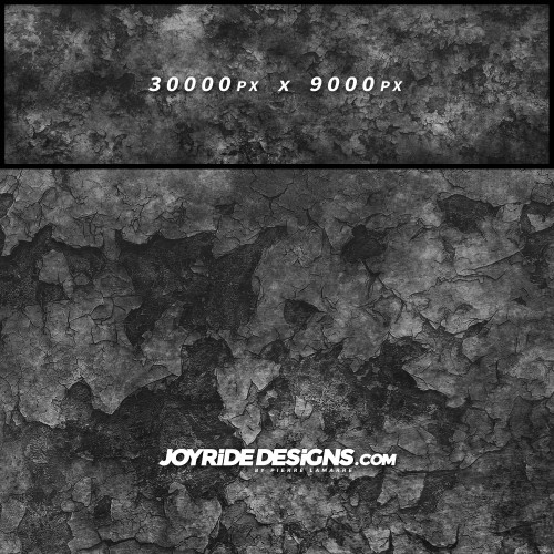 JOYRIDE HIGH RESOLUTION CRACKED METAL BLACK AND GREY TEXTURE WRAP DESIGN JDT-18 60X200