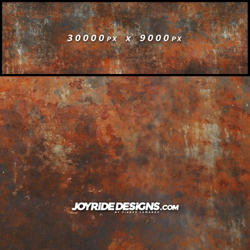 JOYRIDE HIGH RESOLUTION METAL RUSTED PATINA TEXTURE WRAP DESIGN JDT-20 60X200